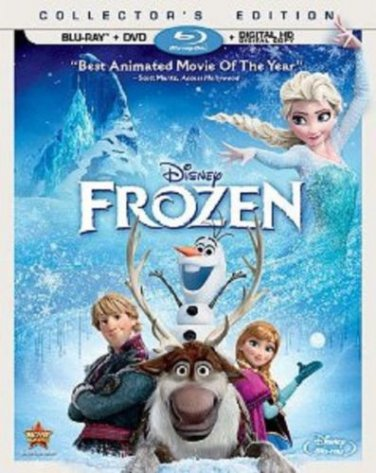 Disney Frozen (2 Discs) (Includes Digital Copy) (Blu-ray/DVD) KRISTIN BELL