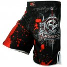 MMA Fight Red Blood Muai Thai Shorts Grappling Boxing Shorts