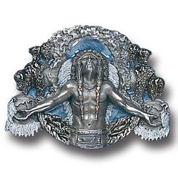 Pewter Belt Buckle - Great Spirit