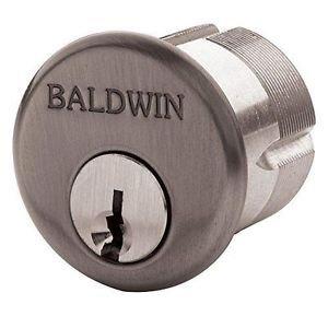 "Baldwin 8323.102 Oil Rubbed Bronze 1-1/4"" Mortise Cylinder C Keyway"