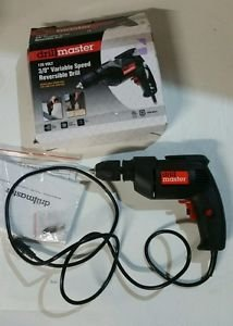 DRILL MASTER 3/8 IN. VARIABLE SPEED REVERSIBLE DRILL