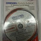 Dremel SM520c 3-Inch Masonry Cut-Off Wheel