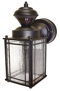 Heath Zenith Motion Activated Coach Light Signature Collection 11.125 In. Bronze