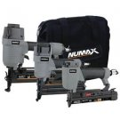 NuMax Pneumatic Finish Combo Kit with 16-Gauge Finish Nailer 23-Gauge Pinner...