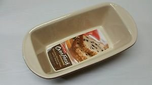 Good Cook 9 Inch Ceramic Loaf Dish, Red , New, Free Shipping
