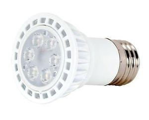 Satco S8990 - 5 watt, PAR16 LED, 3000K, 40' beam spread, Medium base