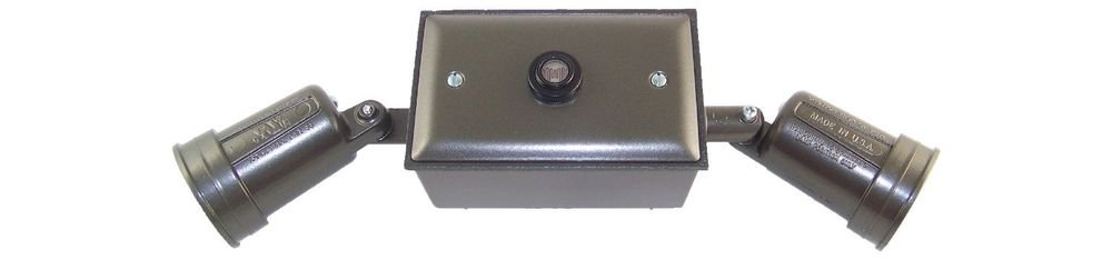 Greenfield KFBBSBR Weatherproof Electrical, Lamp Kit with 1 Gang Box, Cover and