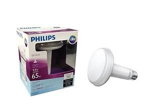 Philips 452466 65 Watt Equivalent Slim Style BR30 LED Dimmable Daylight Light...