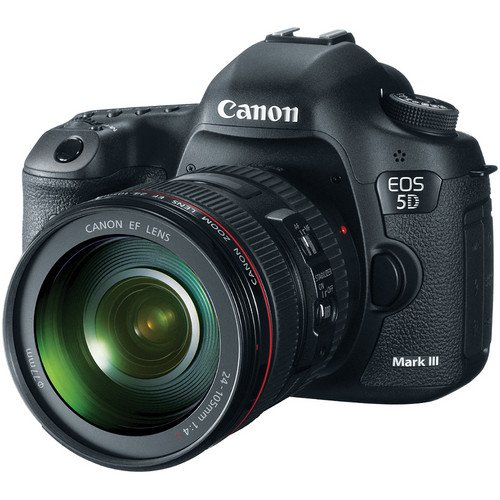 Brand New Canon EOS 5D Mark III Digital Camera Kit With Canon 24-105mm F/4L IS USM AF Lens