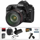 Canon EOS 5D Mark II DSLR & 24-105mm Lens With Basic Accessory Kit