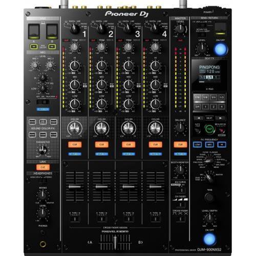 PIONEER DJM900NXS2 NEXUS 2 MIXER PROFESSIONALE PER DJ 64 BIT 2 USB 2 CUFFIE