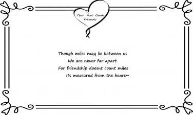 Long Distant Friendship Quote