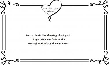 Thinking About You Quote