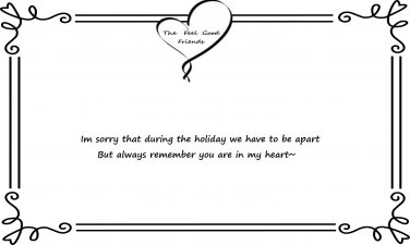 Missing You During The Holiday Quote