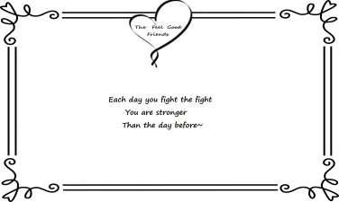 Fight the Fight Quote