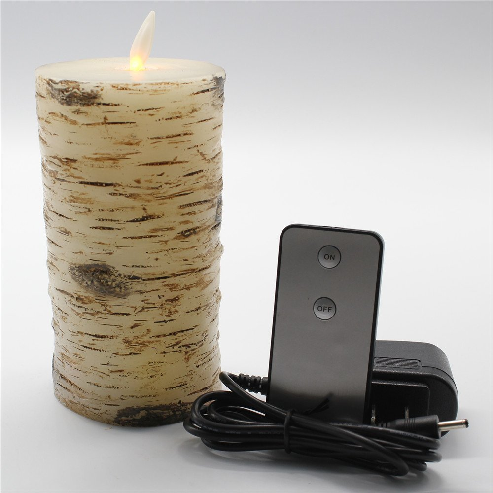 Home Decorations Barky Flameless Battery Operated LED Candles with Remote Control
