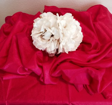 My wedding day hair piece( elegant cream)