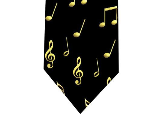 Musical Notes Tie - Model 1