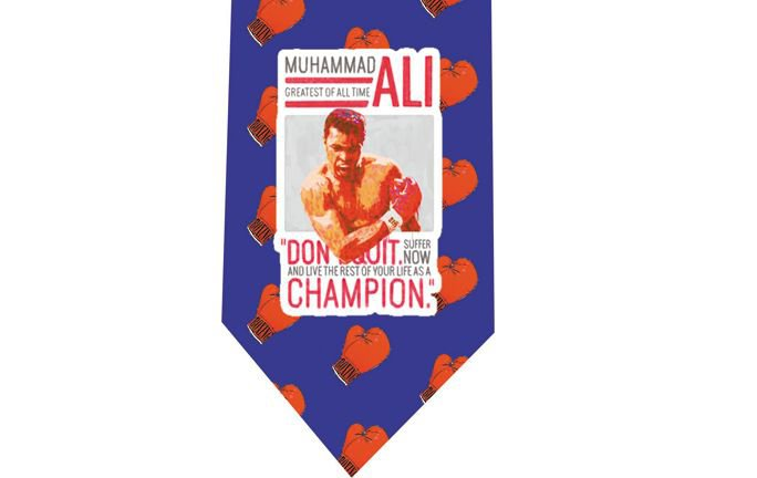 Muhammad Ali Tie - Boxing model 2