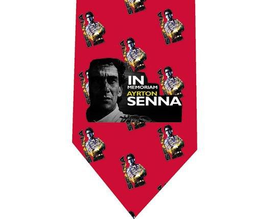 Ayrton Senna Tie - Model 4