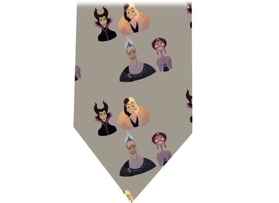 Disney Villains Tie - Model 3