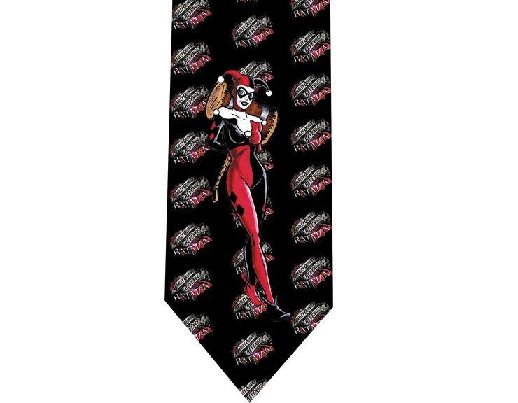 Harley Quinn Tie - Model 2 - Batman