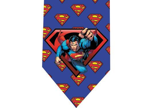 Superman Tie - Model 4