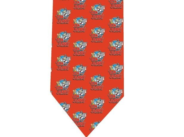 Tom and Jerry Tie - Retro Cartoon