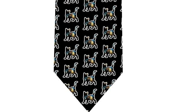 Space Cat Tie - Model 3