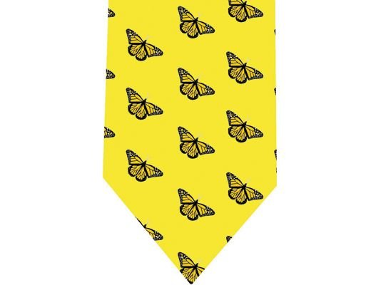 Butterflies Tie - Model 3