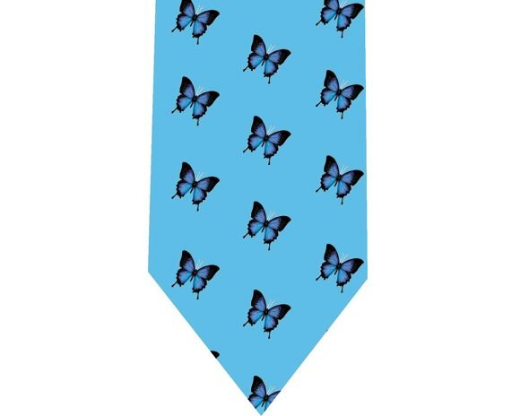 Butterflies Tie - Model 4