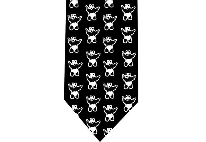 Panda Killer Tie