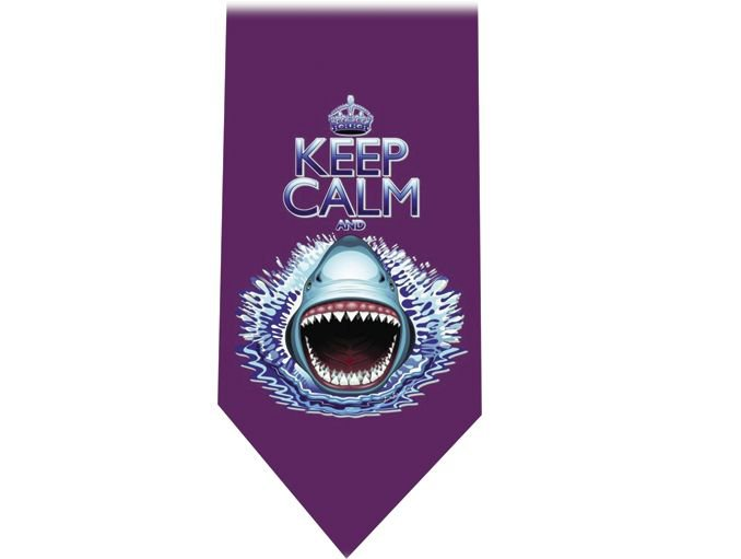 Sharks & Keep Calm Tie