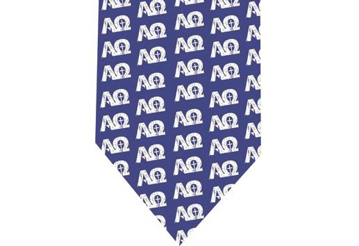 Alpha and Omega Tie - Model 1 - Christians