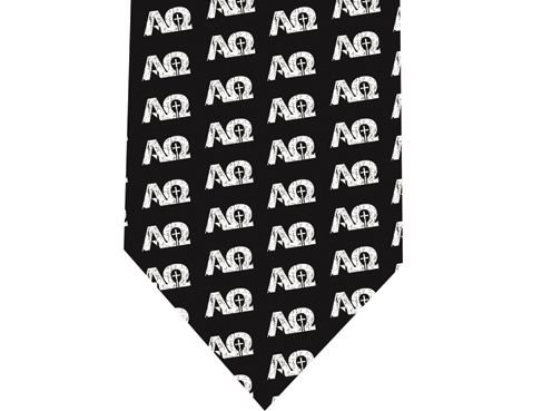 Alpha and Omega Tie - Model 3 - Christians