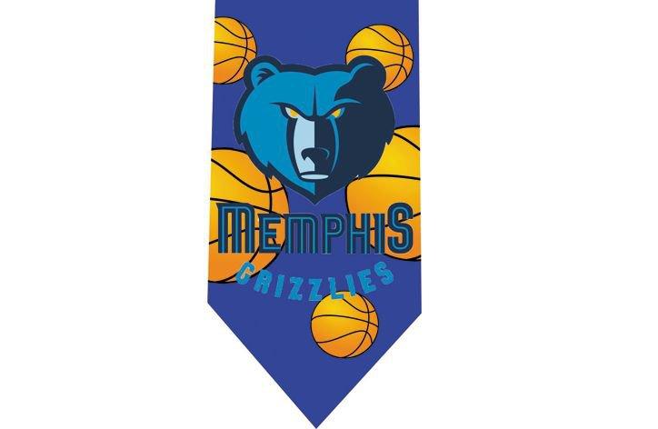 Memphis Grizzlies Tie - Basketall USA