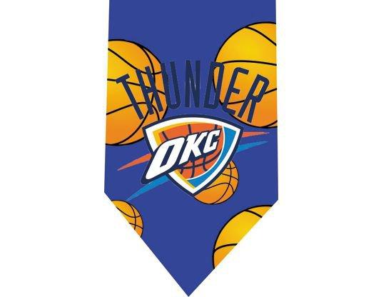Oklahoma City Thunder Tie - Basketall USA