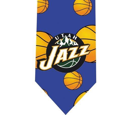 Utah Jazz Tie - Basketall USA