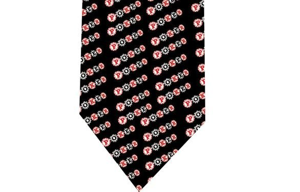 Poker Tie - Model 2 - Chips