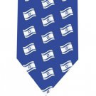 Israel Flag Tie - Jewish