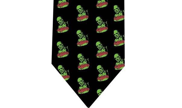 Dr Phibes Tie - Retro Horror Vincent Pride Model 1