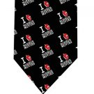 I Love Horror Movies Tie