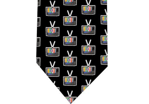 80s TV Tie - Retro - model 2