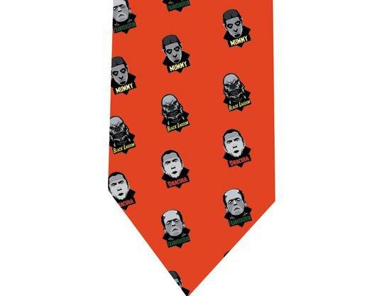 Monsters Pop - Horror Tie