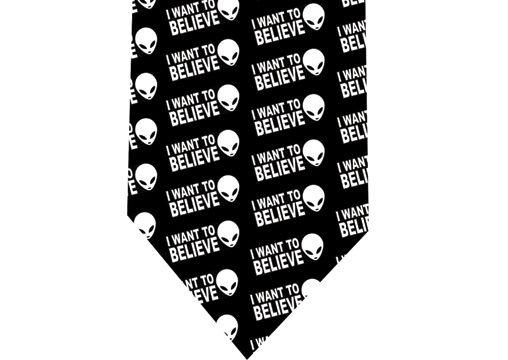 I Want to Believe Tie - UFO Alien