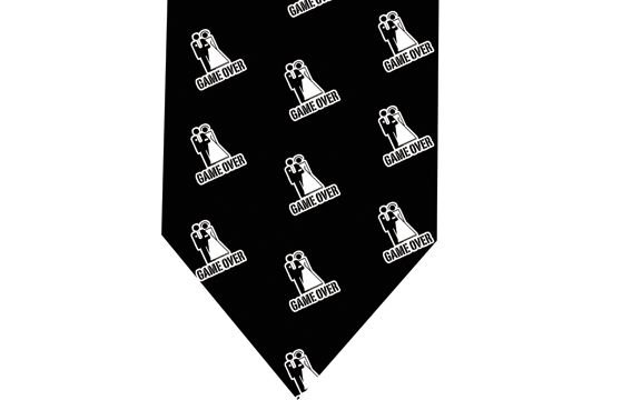 Marriage Tie - Game over funny Tie