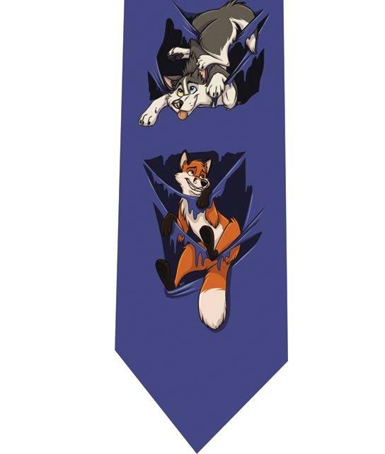 Funny Fox Tie