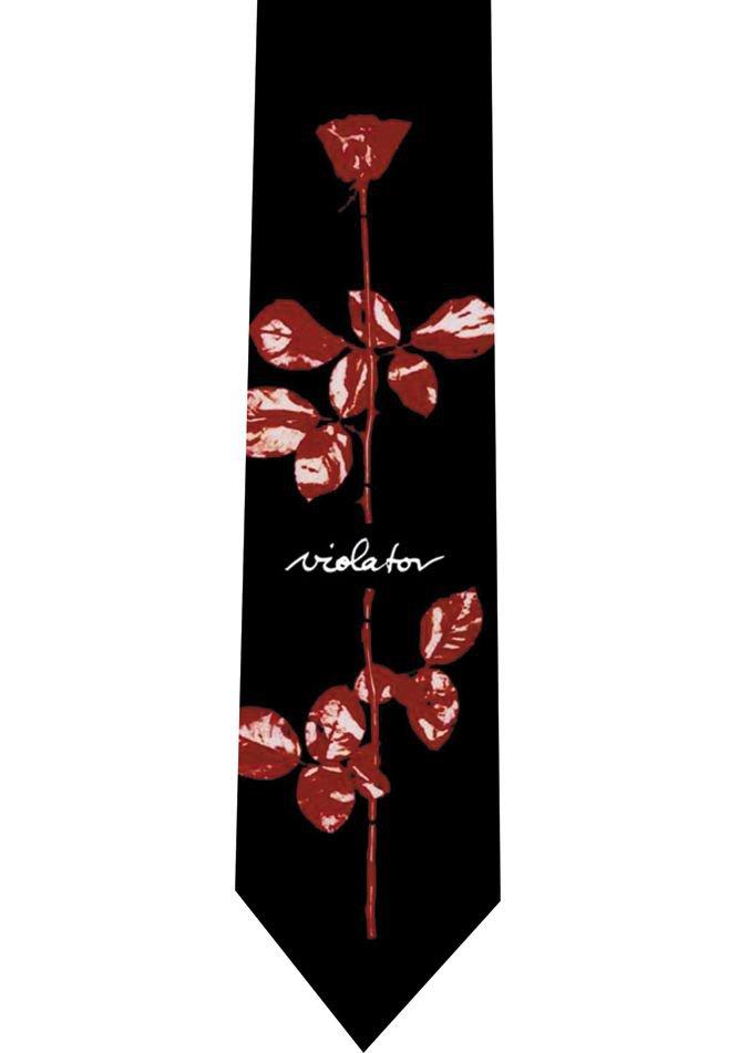 Depeche Mode Tie - Violator - model 2