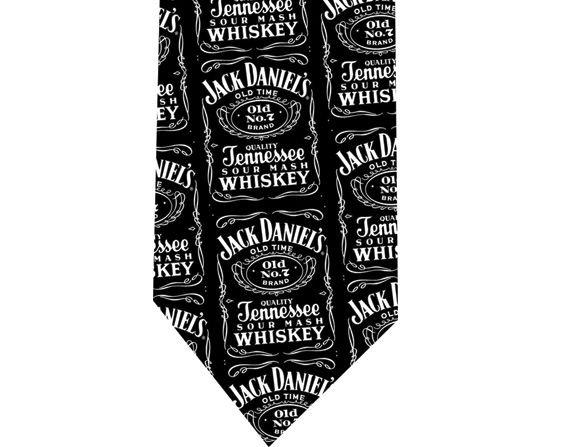 Jack Daniels Tie - Model 2 - Tennessee Whiskey