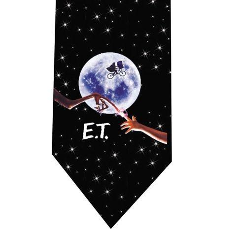 ET Extraterrestrial Tie - retro 80s movie